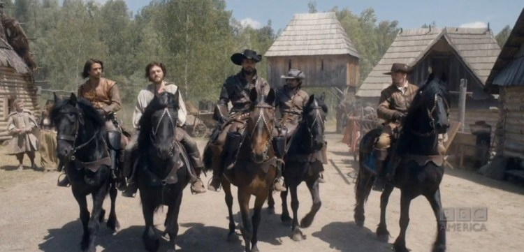 The Five Musketeers
