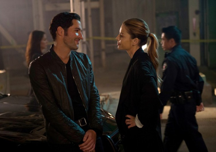 """LUCIFER: L-R: XXX in the """"Manly Whatnots"""" episode of LUCIFER air"""