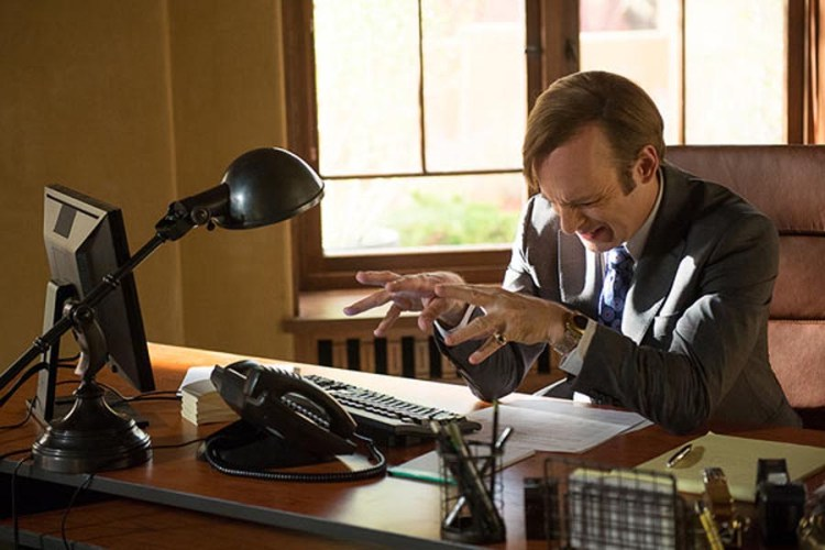 better call saul 2.3 jimmy phone magic fingers