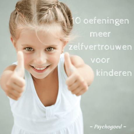 10 oefeningen voor meer zelfvertrouwen bij kinderen
