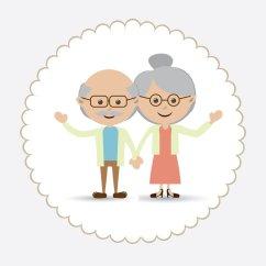 Opa en oma overleden