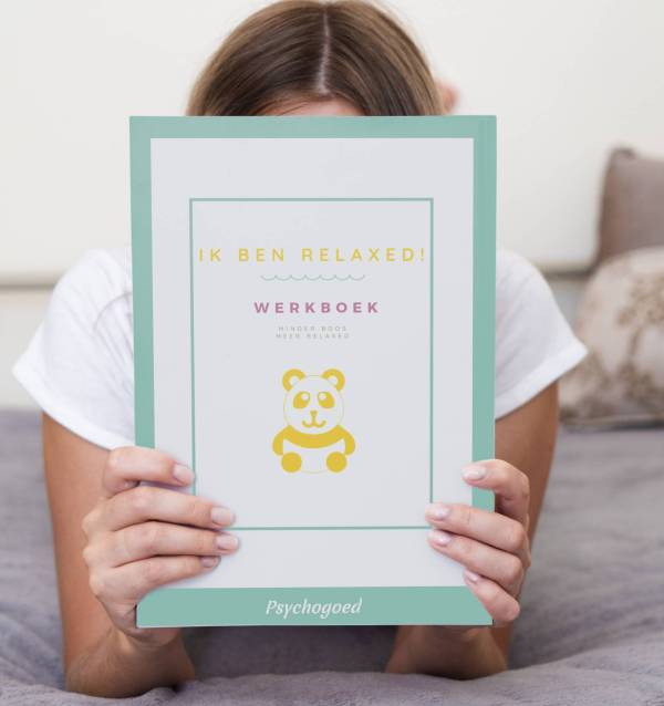 Werkboek Ik ben Relaxed - omgaan met boosheid kind