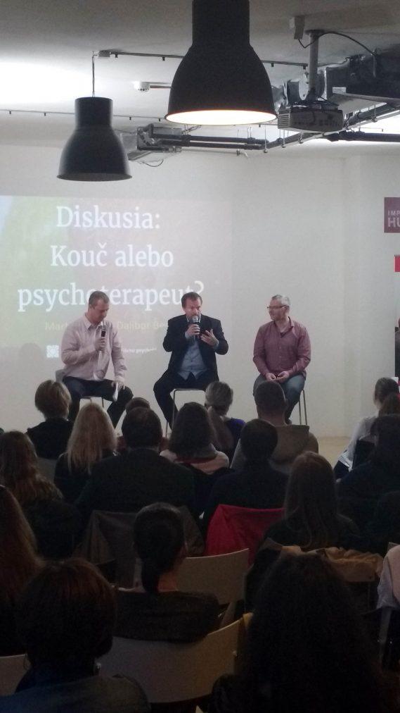 Diskusia Kouč alebo psychoterapeut?