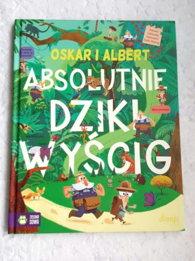 20190117_214349-1877287397 Oskar i Albert. Absolutnie dziki wyścig – START! Z Zieloną Sową.