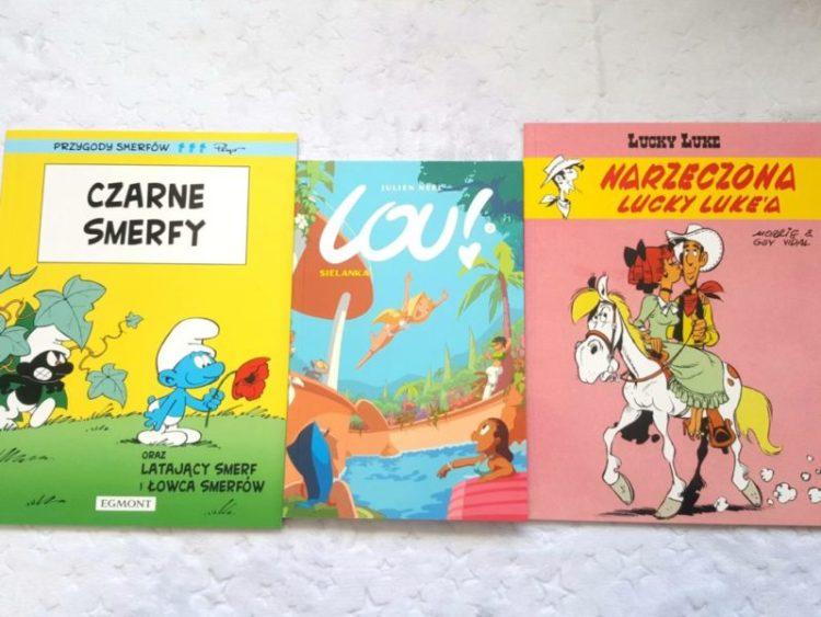 20190226_181536343943363-1024x768 Komiksy są Super: Lucky Luke. Narzeczona Lucky Luke'a. Czarne Smerfy. Lou! Sielanka.  Od EGMONT!