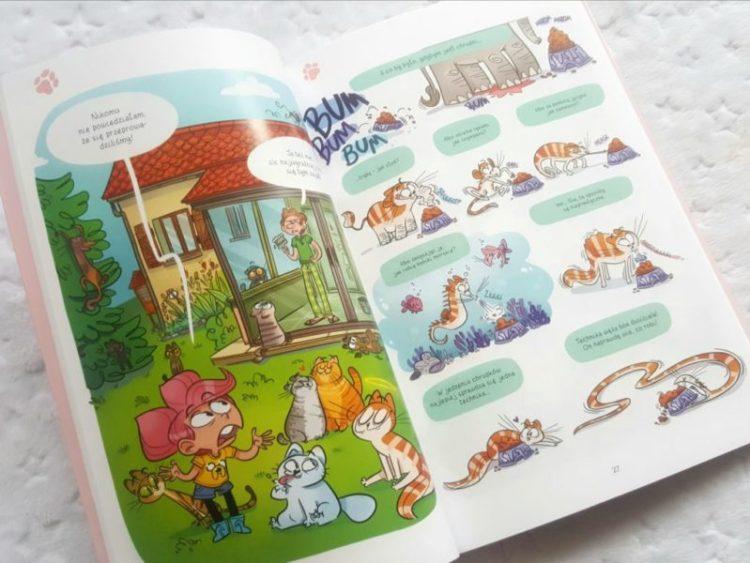 20190909_1132041263317711-768x1024 Komiksy są super: Kasia i jej kot. Tom 2. Komiksowa przygoda z pazurem od Egmont LATO 2019