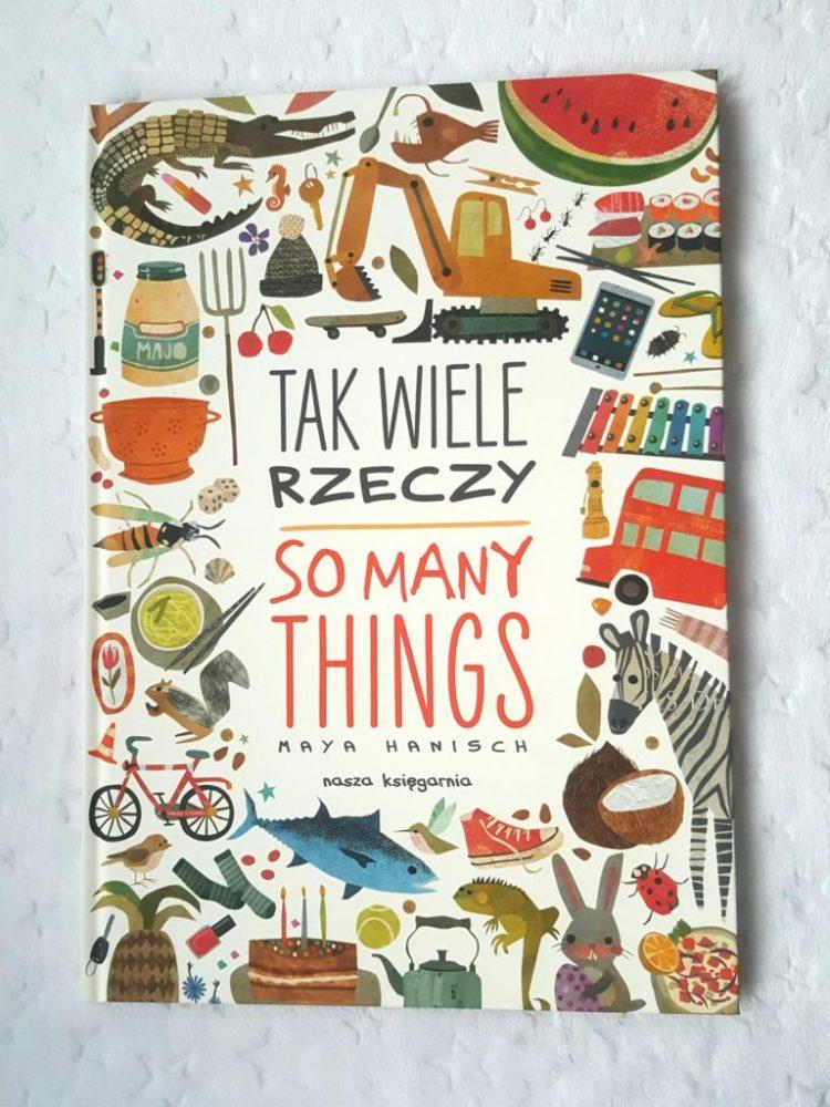 20200121_1115231886033601-768x1024 Tak wiele rzeczy. So Many Things - Maya Hanisch.  Ilustrowany słownik polsko-angielski od Nasza Księgarnia. Styczeń 2020