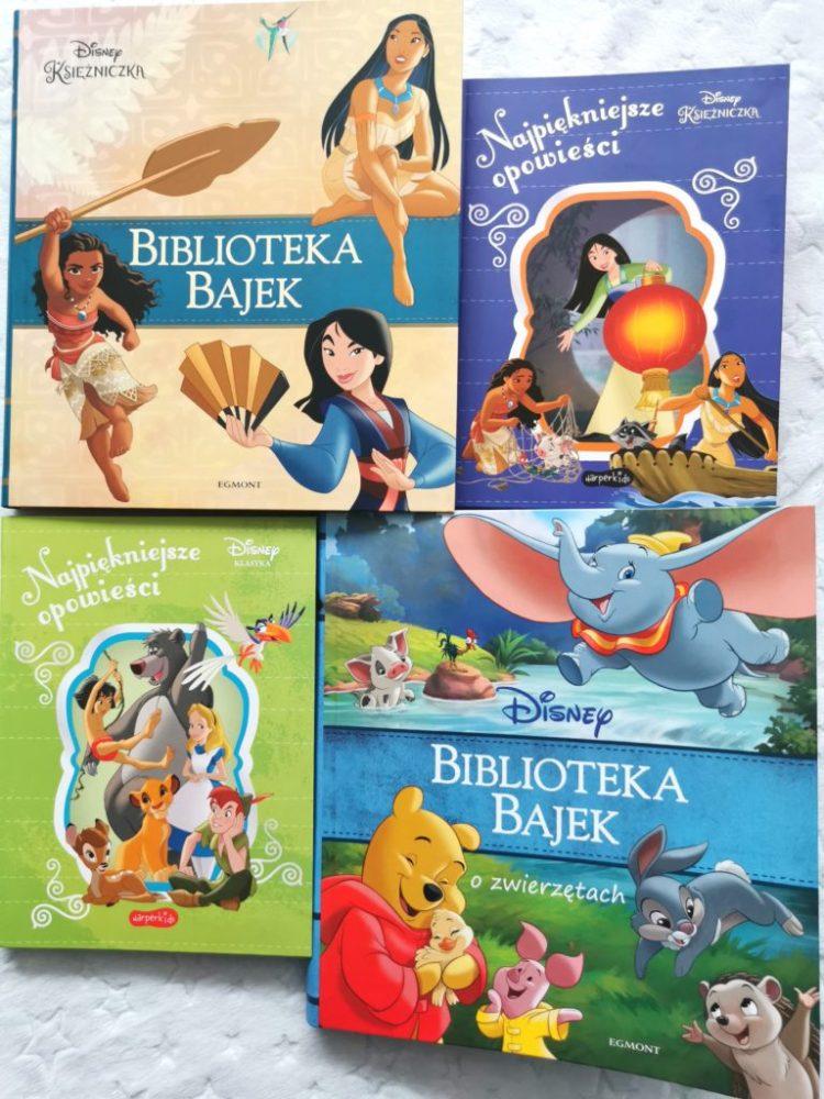 wp-1603832711069-768x1024 BIBLIOTEKA BAJEK Disneya i najpiękniejsze opowieści – Księżniczki, Bajki o zwierzętach. HarperKids 2020. 2+