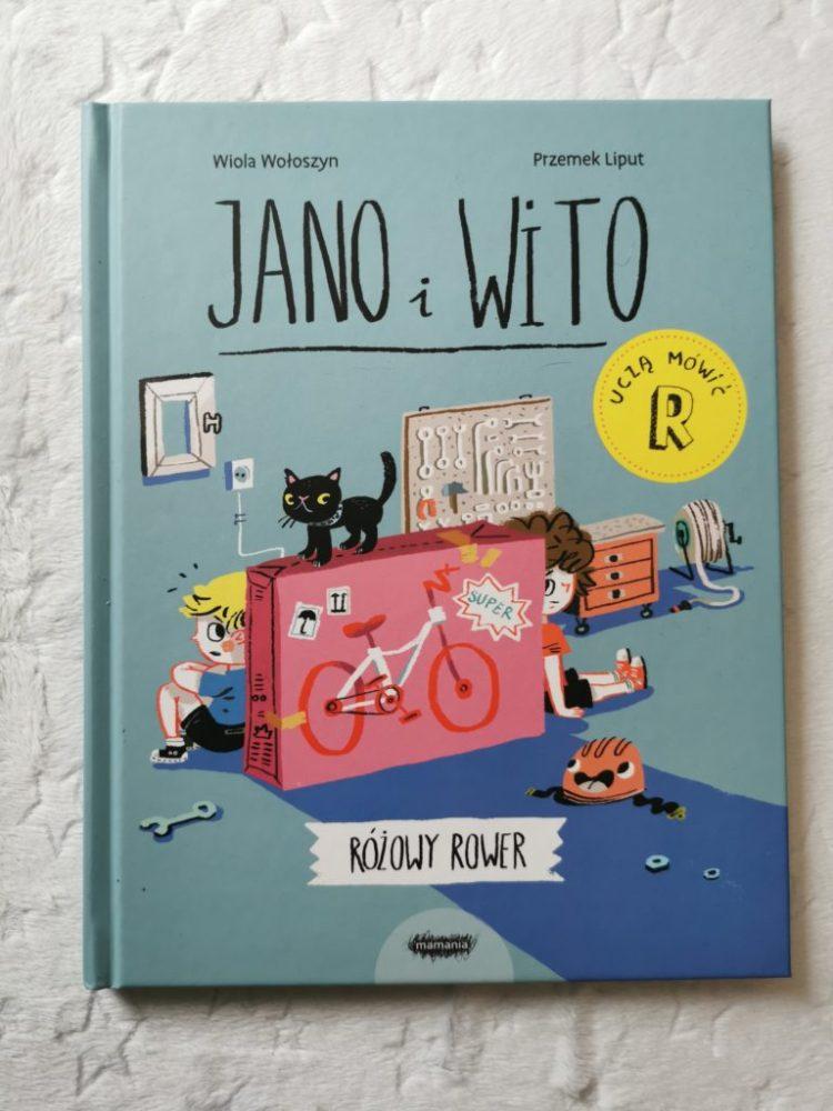 wp-1605391467054-768x1024 Jano i Wito uczą mówić. Różowy rower MAMNIA . JESIEŃ 2020 od 3+