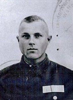Iwan Demianiuk - później odkryte zdjęcie z Trawnik