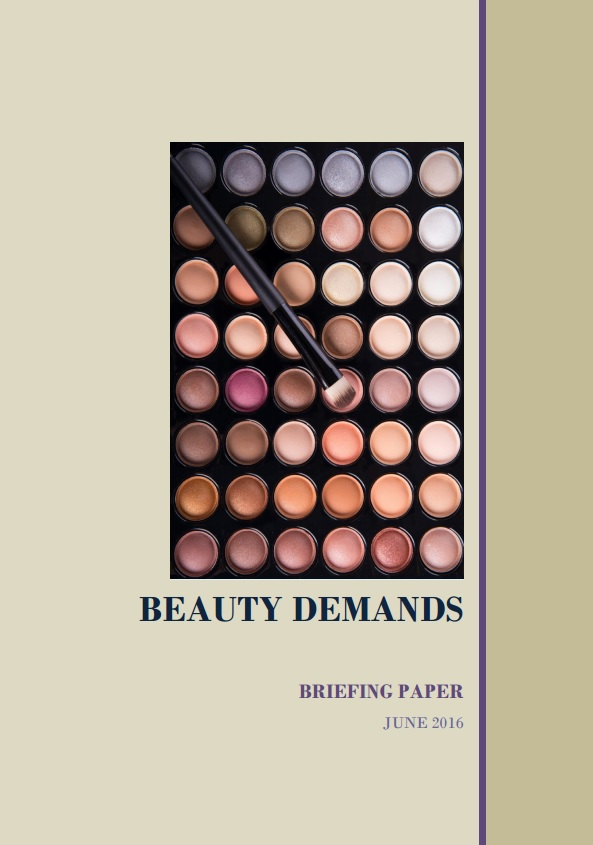 Beauty Demands briefing paper