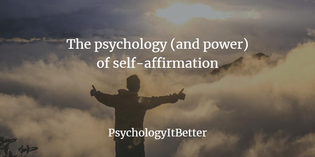 self-affirmation