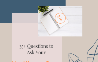 Questions to ask your healthcare team