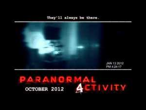 Teaser Trailer – Paranormal Activity 4