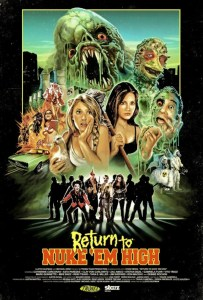 Horror Movie Poster – Return to Nuke 'Em High