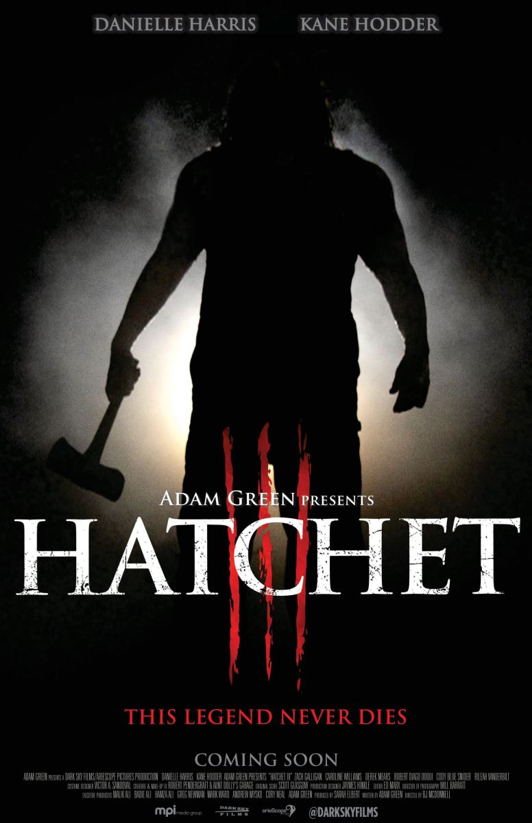 Horror Movie Trailer - HATCHET III