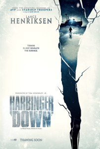 1st trailer for indie horror flick Harbinger Down