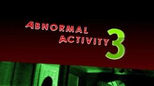 Abnormal Activity 3 (2011)