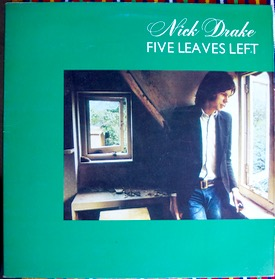 "NICK DRAKE FIVE LEAVES LEFT UK original pressing, 500 only were made and always hard to find and super desirable, cover near mint except for small ""Tim"" on rear on the border, vinyl superb £850 M-/M- ISLAND ILPS 9105 LP"