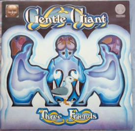 GENTLE GIANT THREE FRIENDS Uk Swirl orig with inner, super copy £250 M-/M- VERTIGO 6360 070 LP