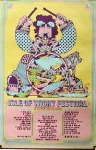 Isle of Wight festival poster