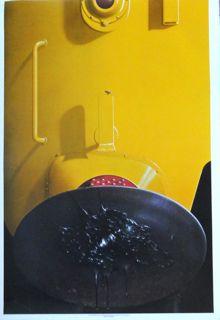Michael English poster Yellow Diesel Black Grease