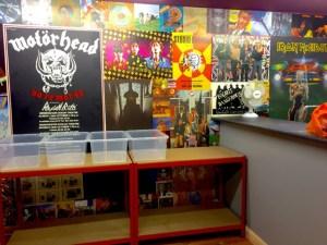 Lindas wall in shop