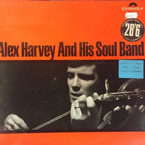 alex harvey lp