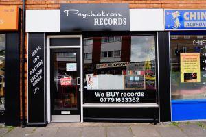 Outside Psychotron Record shop
