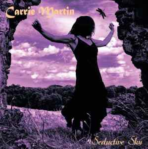 Carrie Martin 'Seductive Sky' LP cover on Psychotron Records PR1008