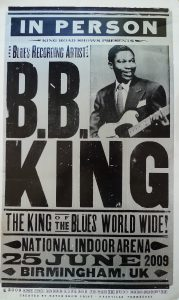 BB King in Birmingham in 2009