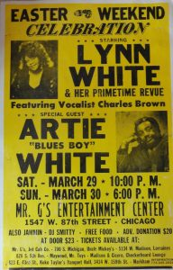 Lynn Walter and Artie White