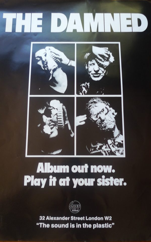 The damned album play it at your sister, Stiff