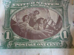 Salvation Postage one cent