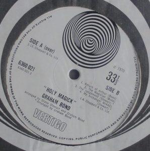 Graham Bond label