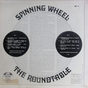 Spinning Wheel rear