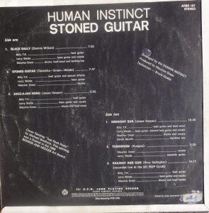 Human Instinct rear