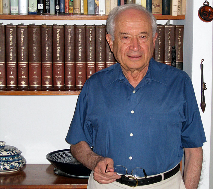 """The Israeli scientist, more commonly known as """"The Father of Cannabis Research"""""""