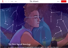 The Atlantic article – The New Age of Astrology by Julie Beck (01/16/18)