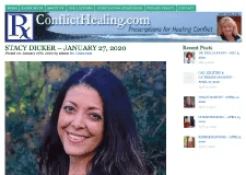 Interview – Conflict Healing with Mari Frank on KUCI 88.9 FM (01/27/20)
