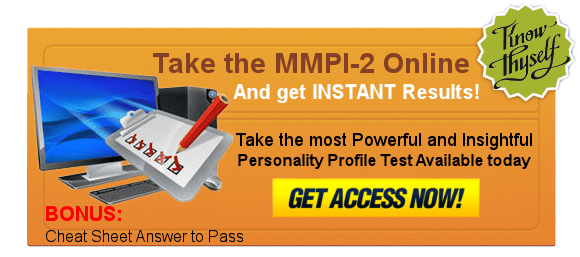 Take the MMPI Test Online
