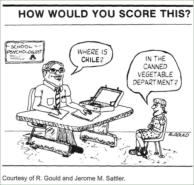 Intelligence Tests; Mental Tests