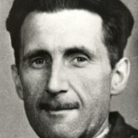 """""""Semplicemente un simbolo di solidarietà nazionale, il primo passo prima d'indossare un'uniforme"""".  Orwell su civili e maschere antigas (2020)"""
