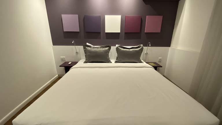 Mercure Sao Paulo ベッド