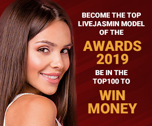Become the top Jasmin model of the Awards 2016!