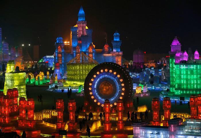 neve, gelo, China