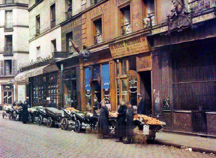 Fotos Antigas de Paris