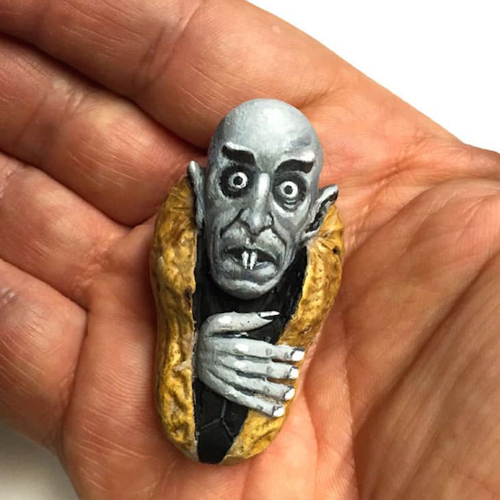steve casino transforma amendoins em obra de arte