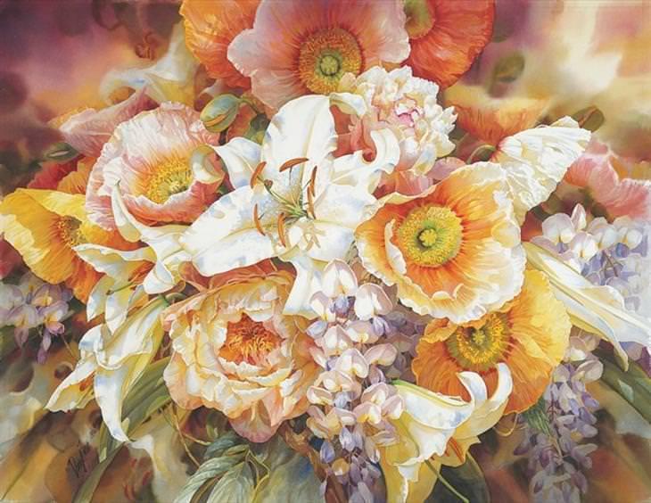 As flores de Darryl Trott
