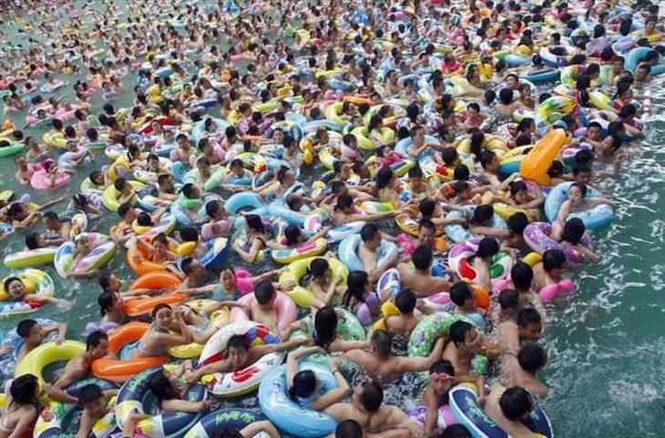 Piscina pública chinesa